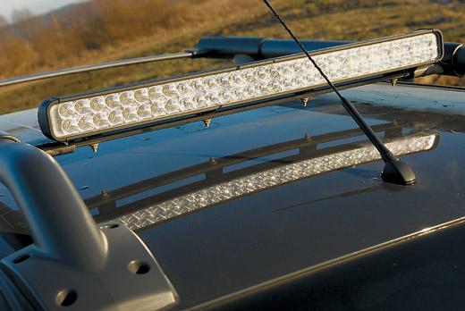 Светодиодная люстра на крышу автомобиля