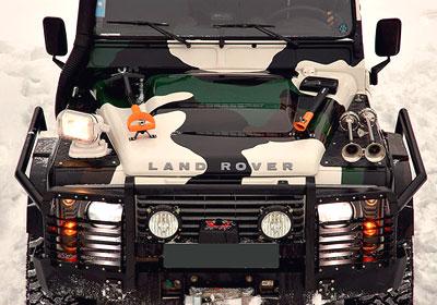 Land rover defender pickup 2 4 td кдт 2009