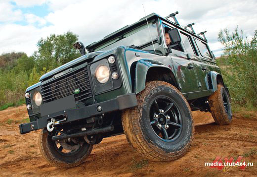 Land Rover Defender 110 «Автовентури» 2010