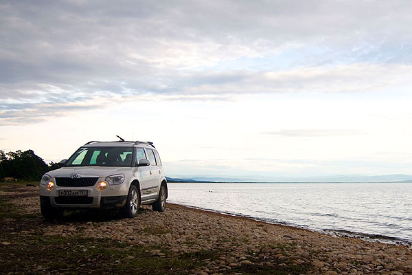 Путешествие по Забайкальскому национальному парку на Skoda Yeti