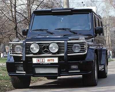 Mercedes-Benz G-Class Gelandewagen - Mercedes-Benz ГЕЛЕНДВАГЕН шестиколесный